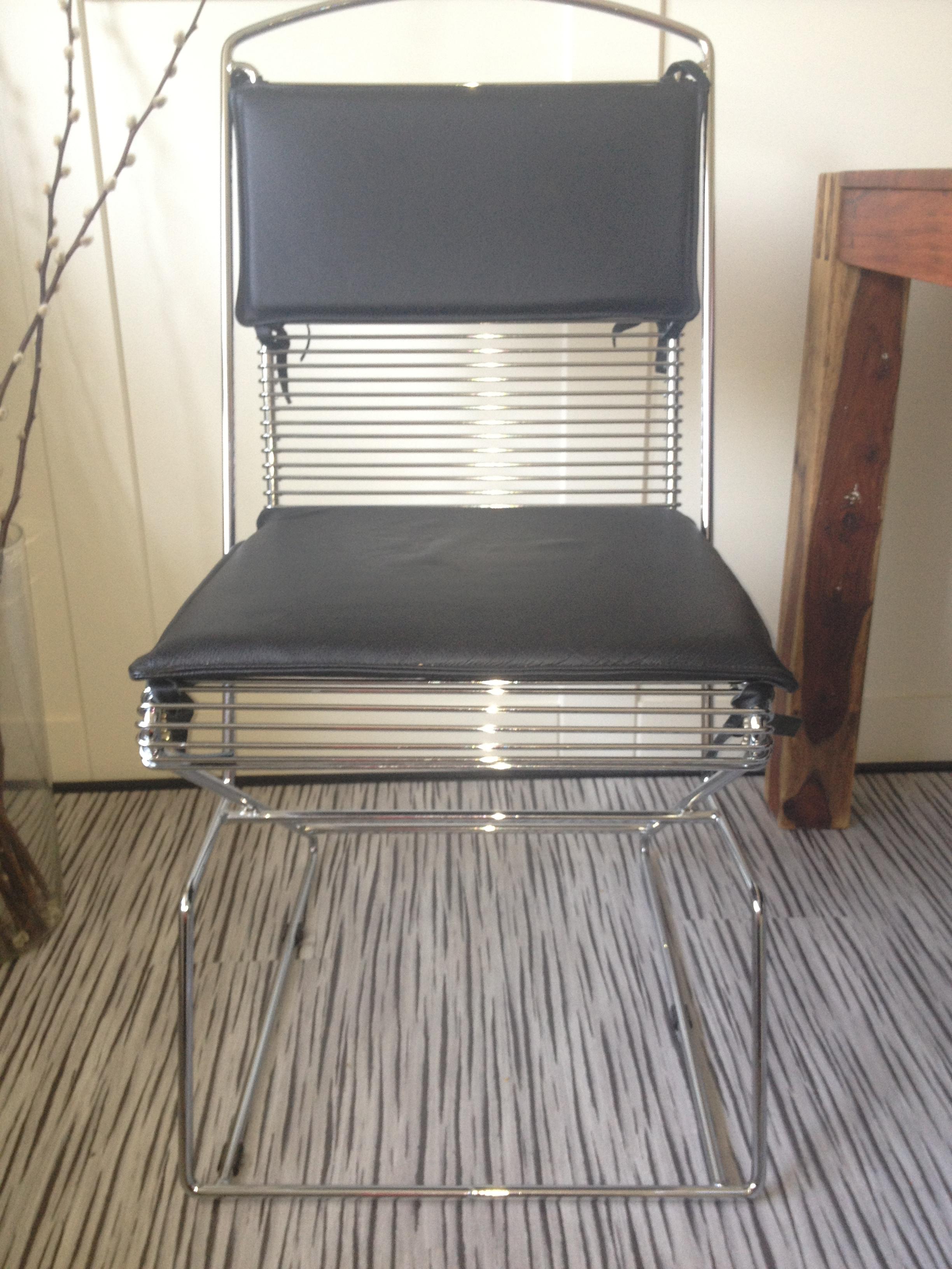 luxe zitting draad designstoel